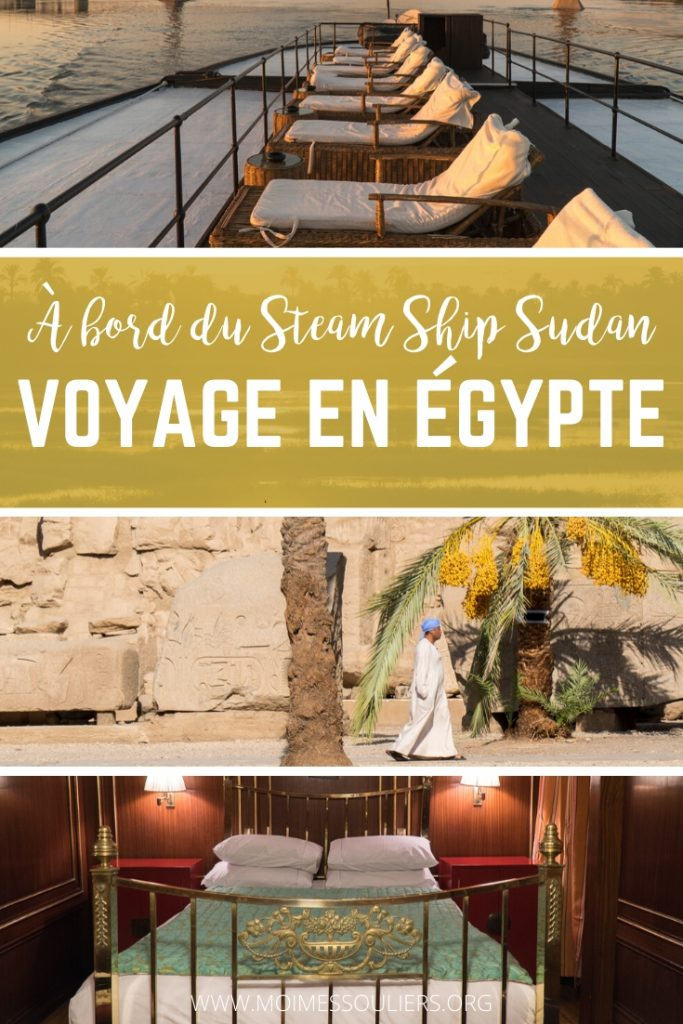 Voyage en Égypte à bord du Steam Ship Sudan