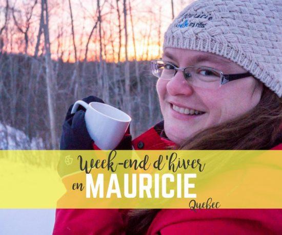 Week-end d'hiver en Mauricie en amoureux
