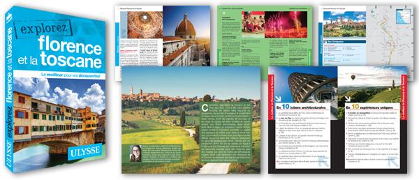 Intérieur de mon guide Ulysse Explorez Florence et la Toscane