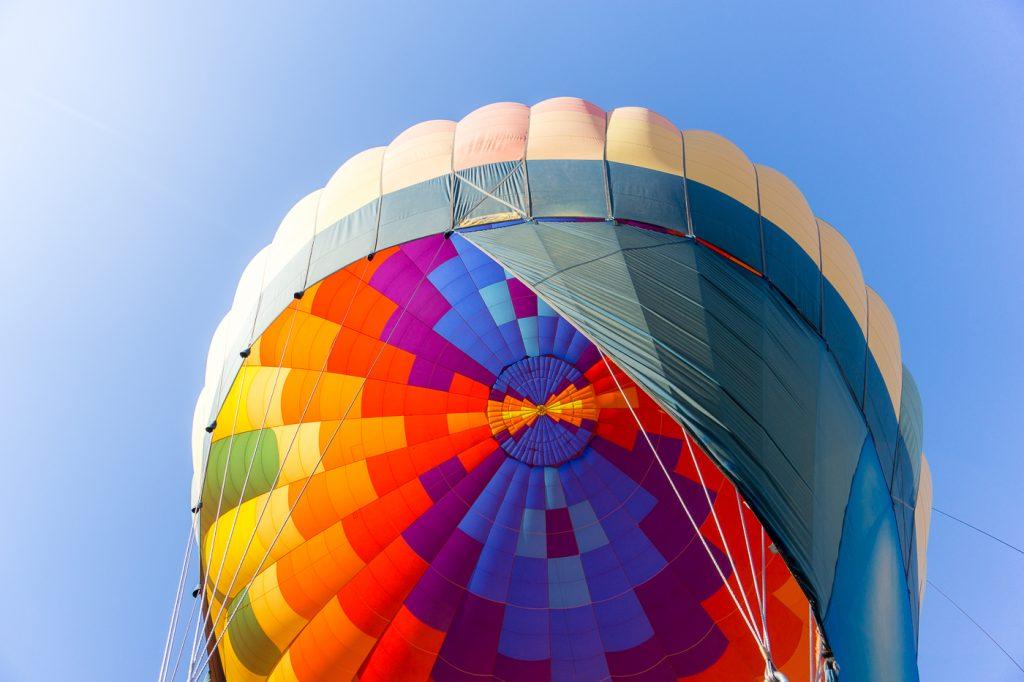 Ballon de la montgolfière en Arizona