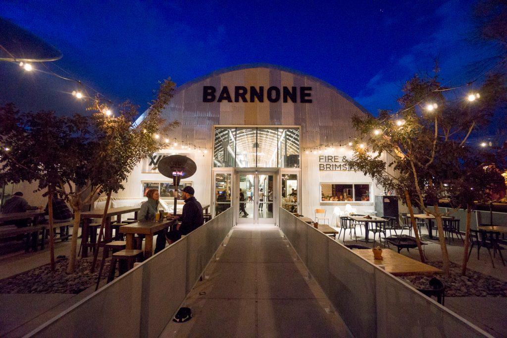 Barnone chez Agritopia à Mesa le long de la Fresh Foodie Trail de Phoenix, Arizona