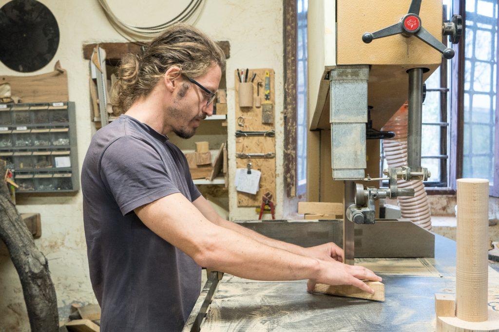 Giorgio, artisan du bois - Quels souvenirs rapporter de Toscane en Italie