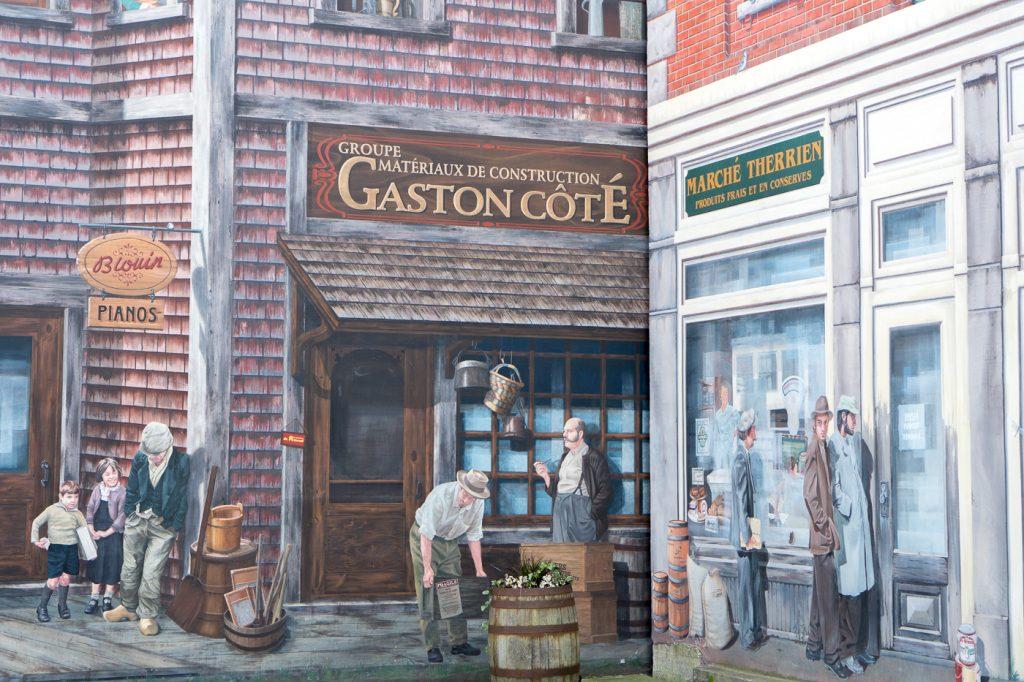 Murale Gaston Côté - Muralis Sherbrooke