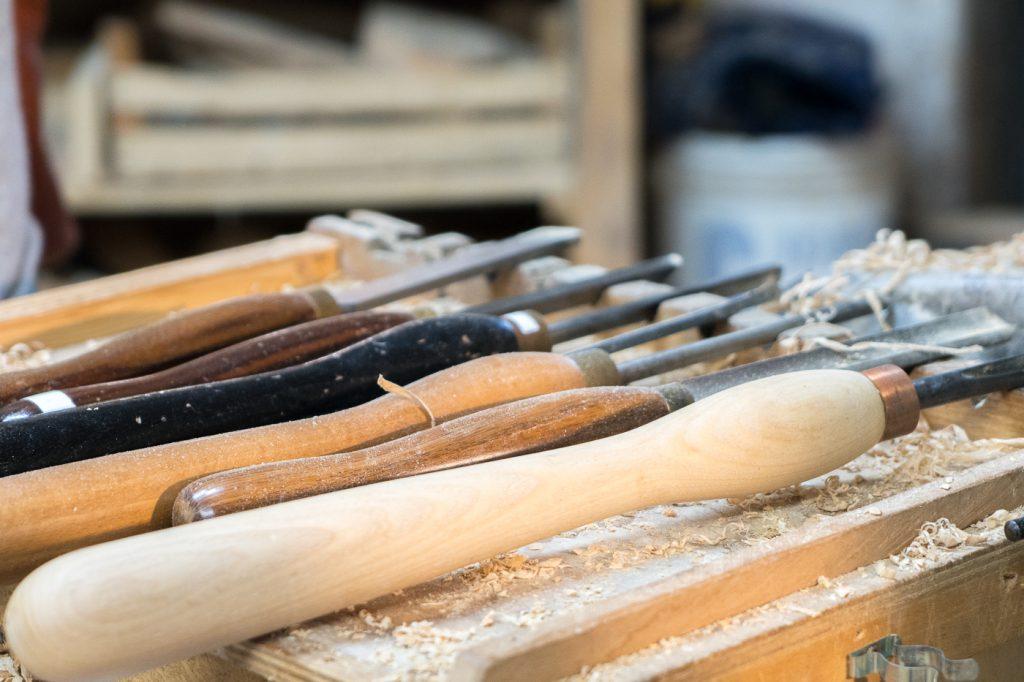 Outils pour fabricant de bois - Toscane, Italie