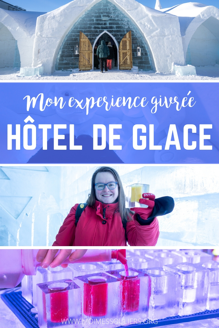 Expérience hôtel de glace à Québec