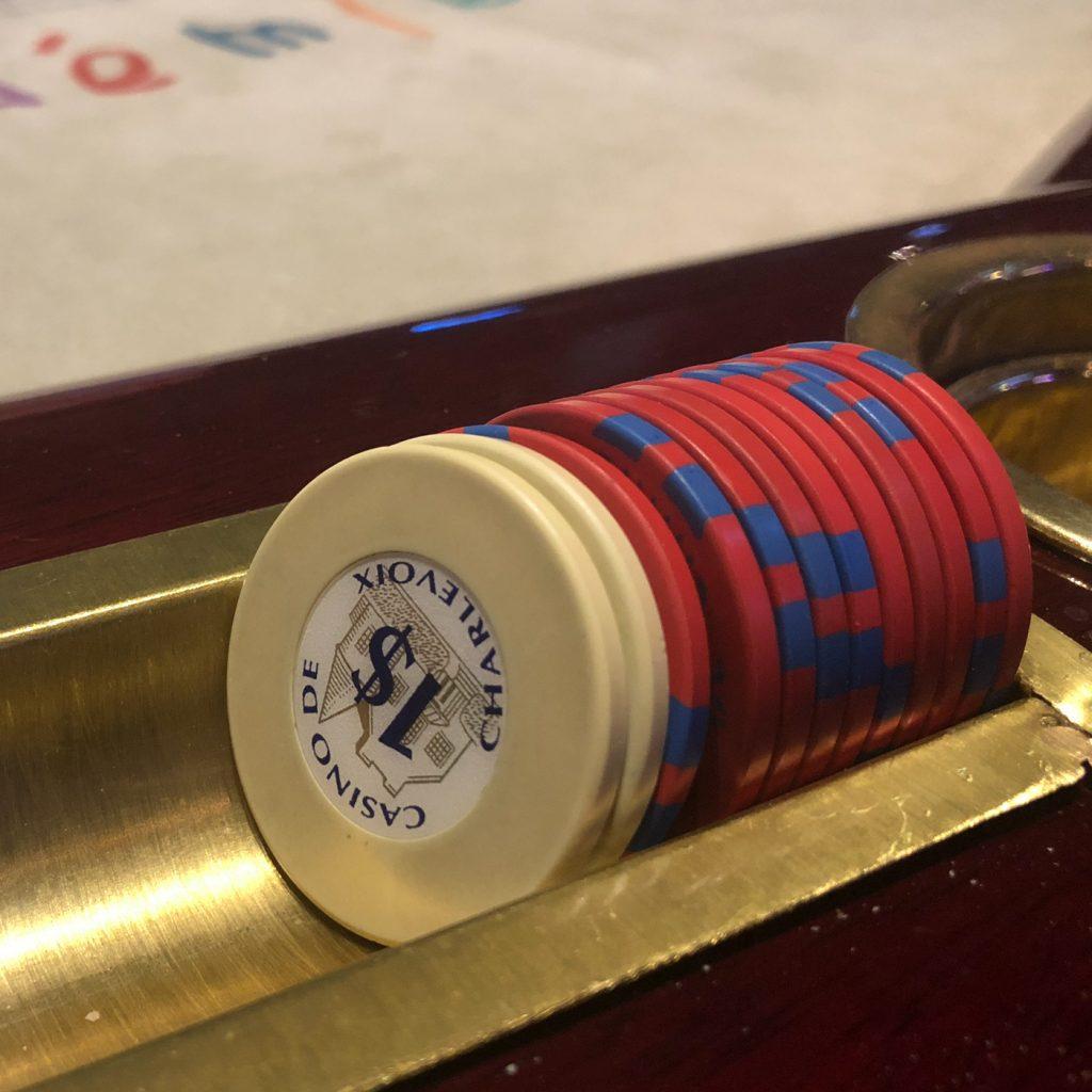 Jetons de gambling au Casino de Charlevoix