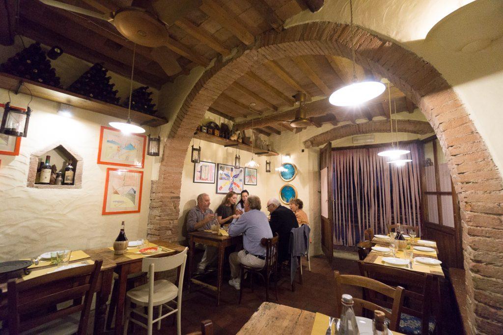 Où manger en Toscane dans le Chianti - A Casa Mia de Montefiridolfi