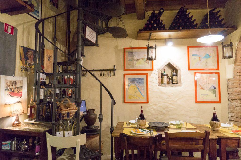 Restaurant A Casa Mia de Montefiridolfi avec KM Zero Tours Chianti