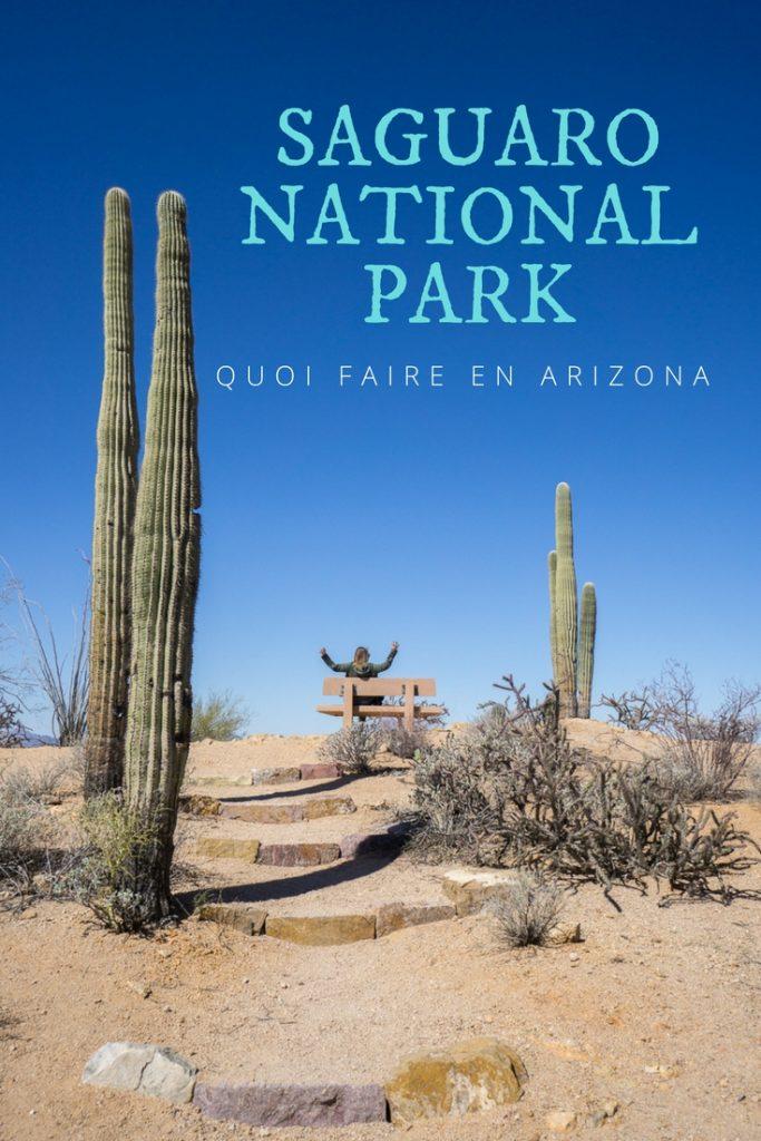 Saguaro National Park - Quoi faire en Arizona