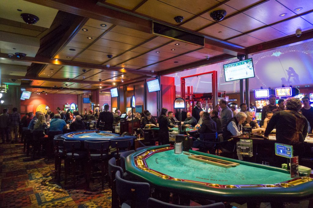 Tables de jeu - Casino de Charlevoix