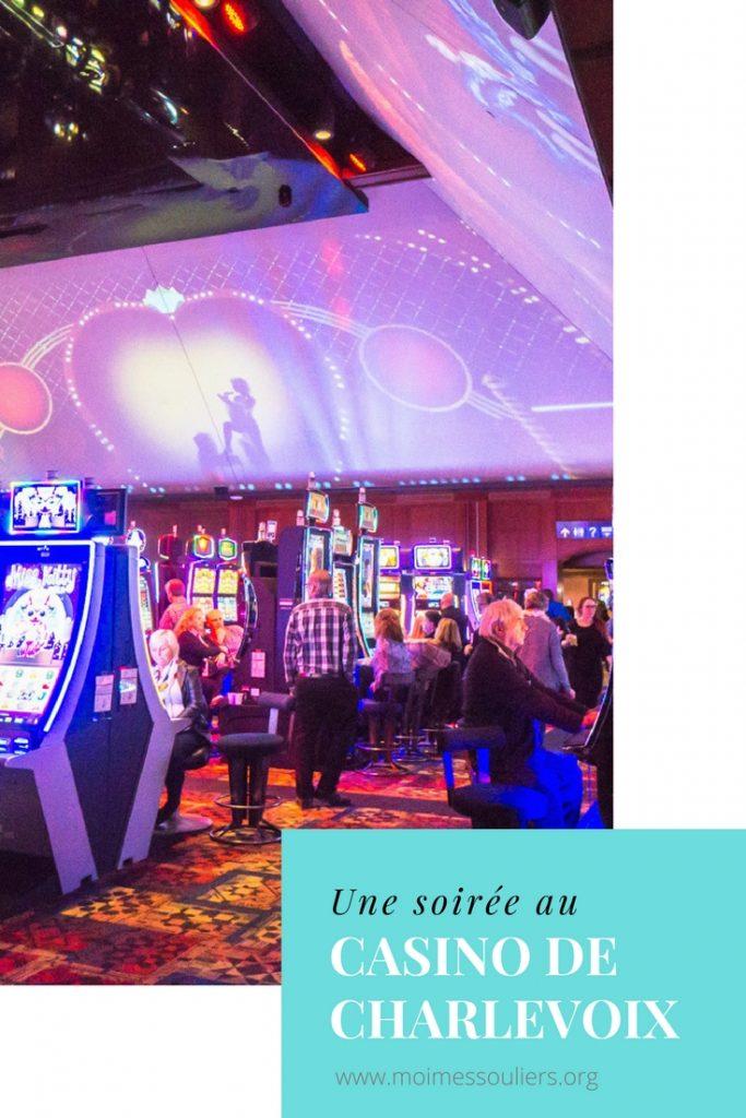 Une soirée au Casino de Charlevoix