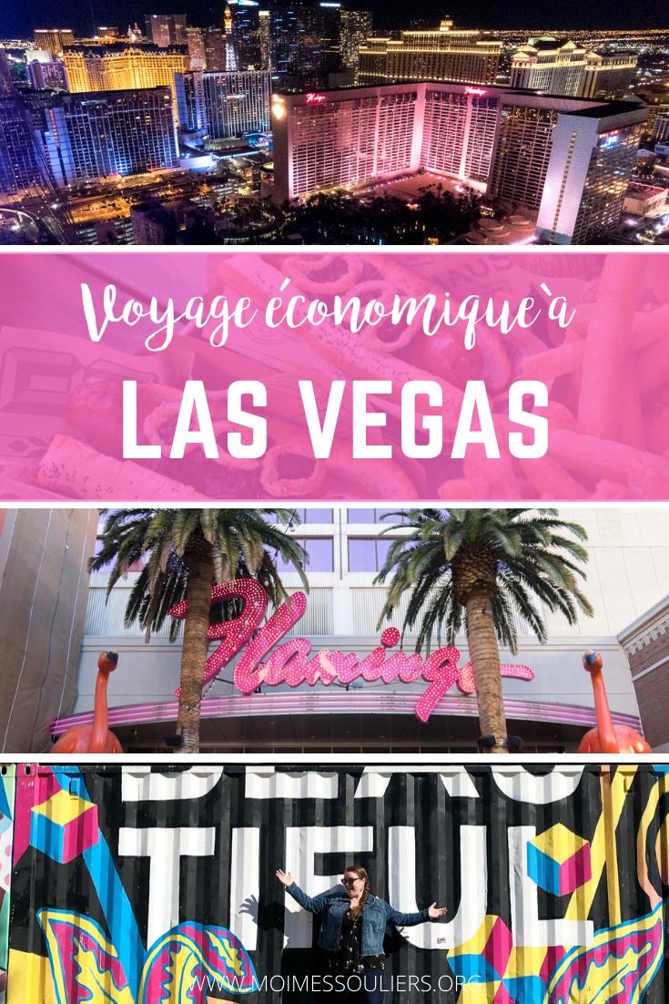 Voyage à Las Vegas à petit prix conseils pour économiser