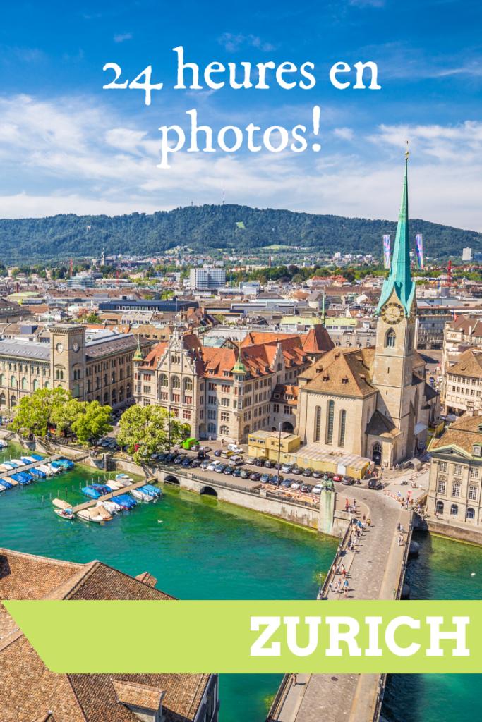 24 heures en photos à Zurich