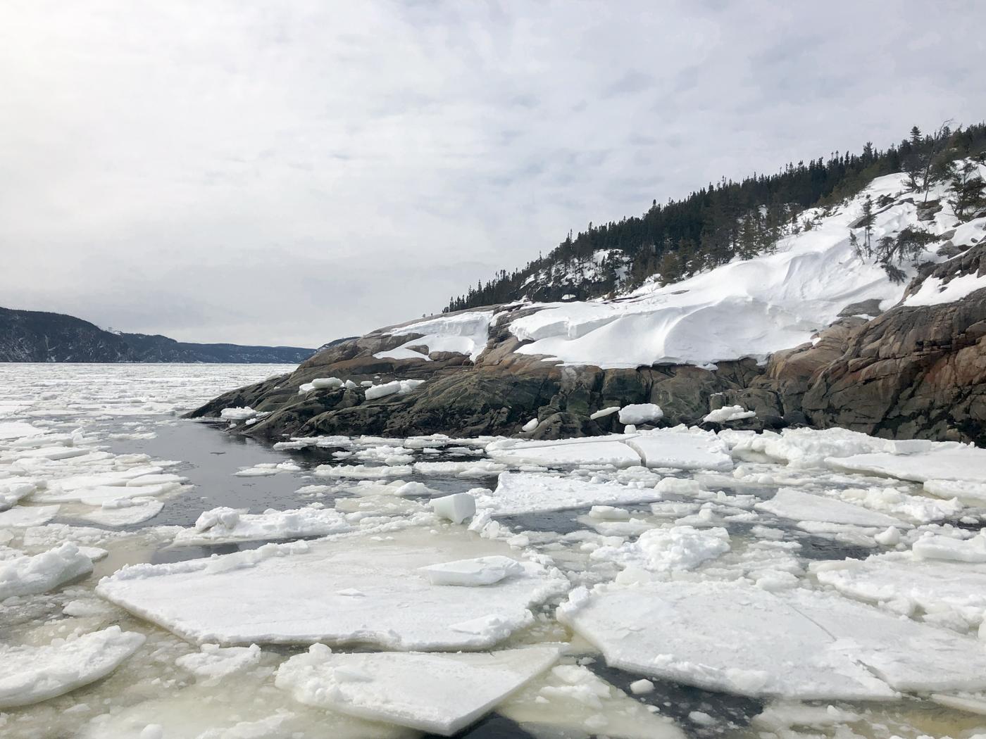 Baie de Tadoussac au Québec