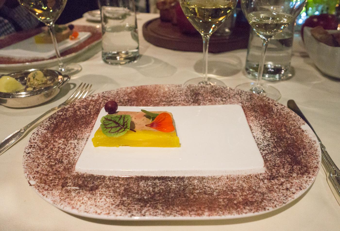 Foie gras aux canneberges