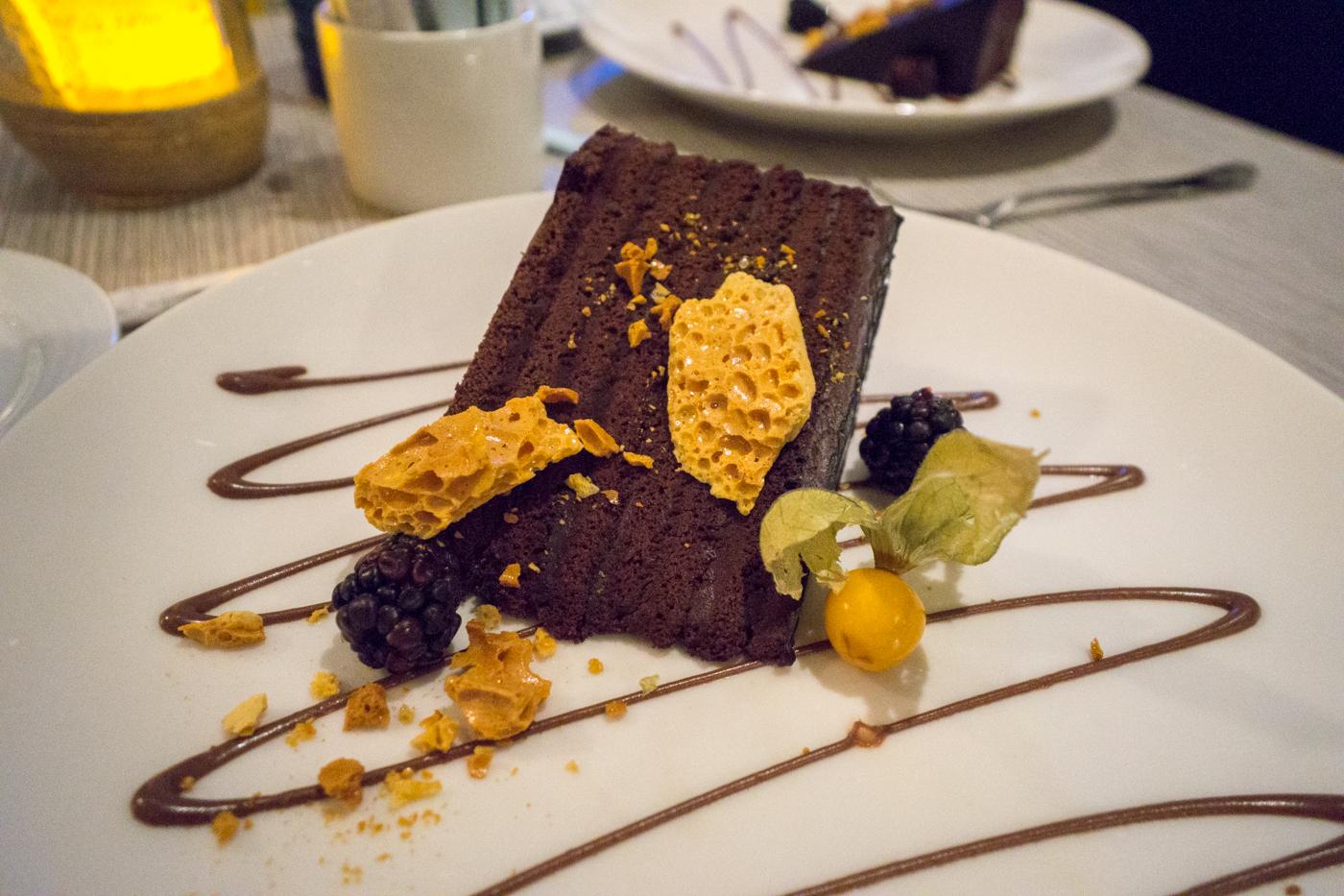 Gâteau au chocolat - Où manger dans Charlevoix