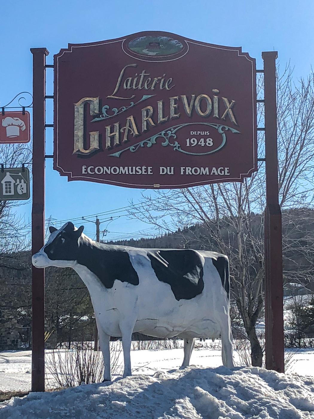 Laiterie de Charlevoix - À faire au Québec