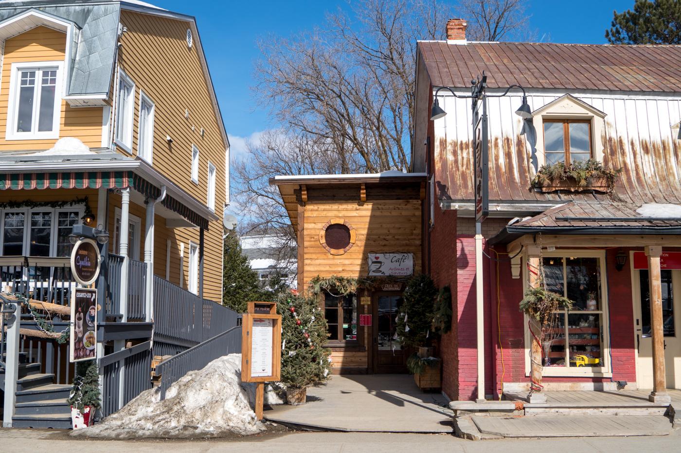 Maisons anciennes de la rue St-Jean-Baptiste de Baie-Saint-Paul