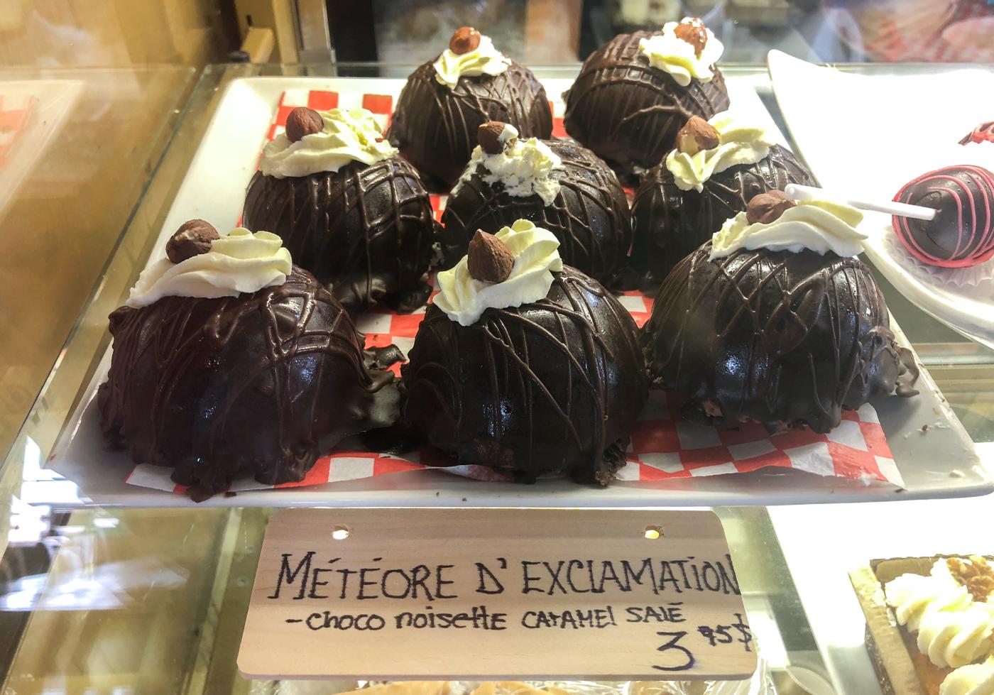 Pâtisserie Météore d'exception de la Boulangerie Pains d'exclamation de La Malbaie