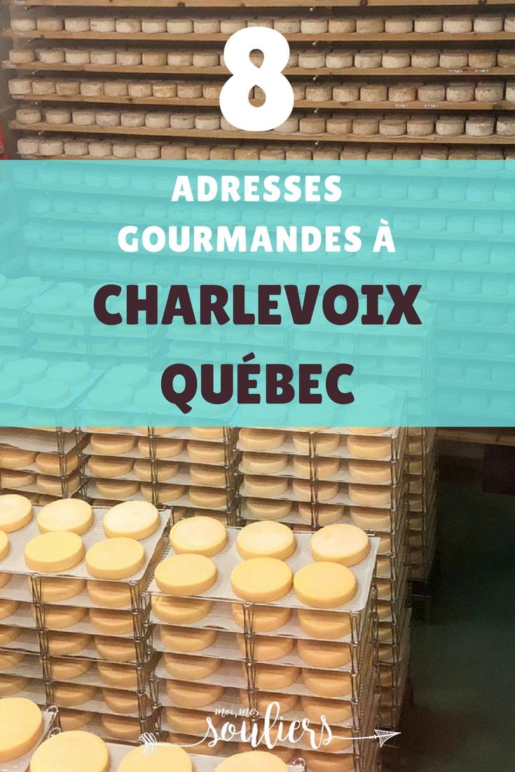 8 adresses gourmandes à Charlevoix, Québec, Canada