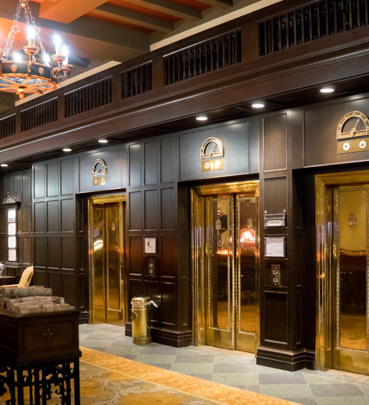 Ascenseurs du Fairmont Manoir Richelieu