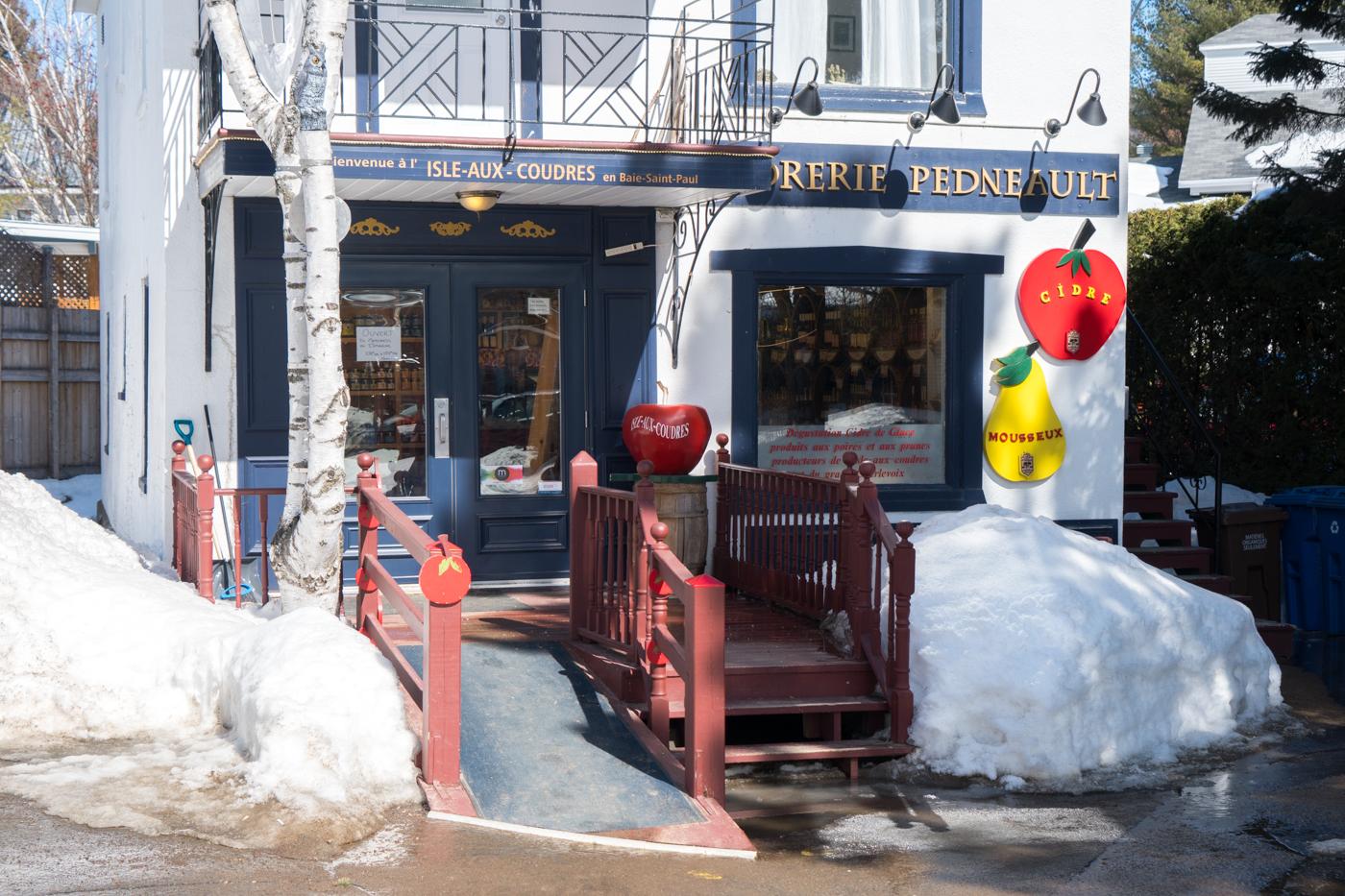 Bonnes adresses à Baie-Saint-Paul - Vergers et cidrerie Pedneault