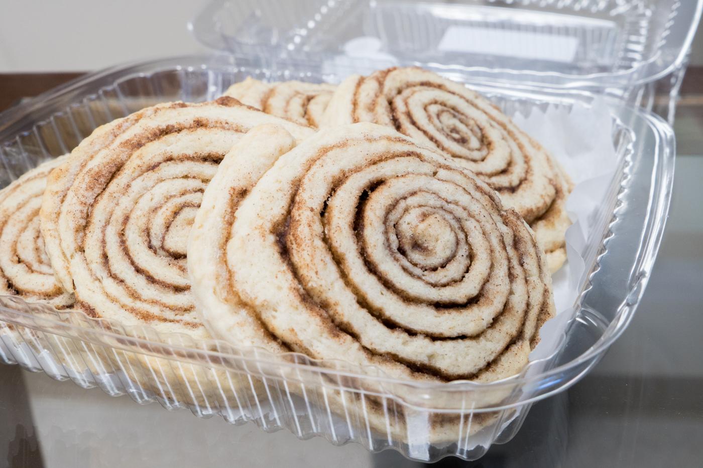 Roulés à la cannelle de la boulangerie CAMI