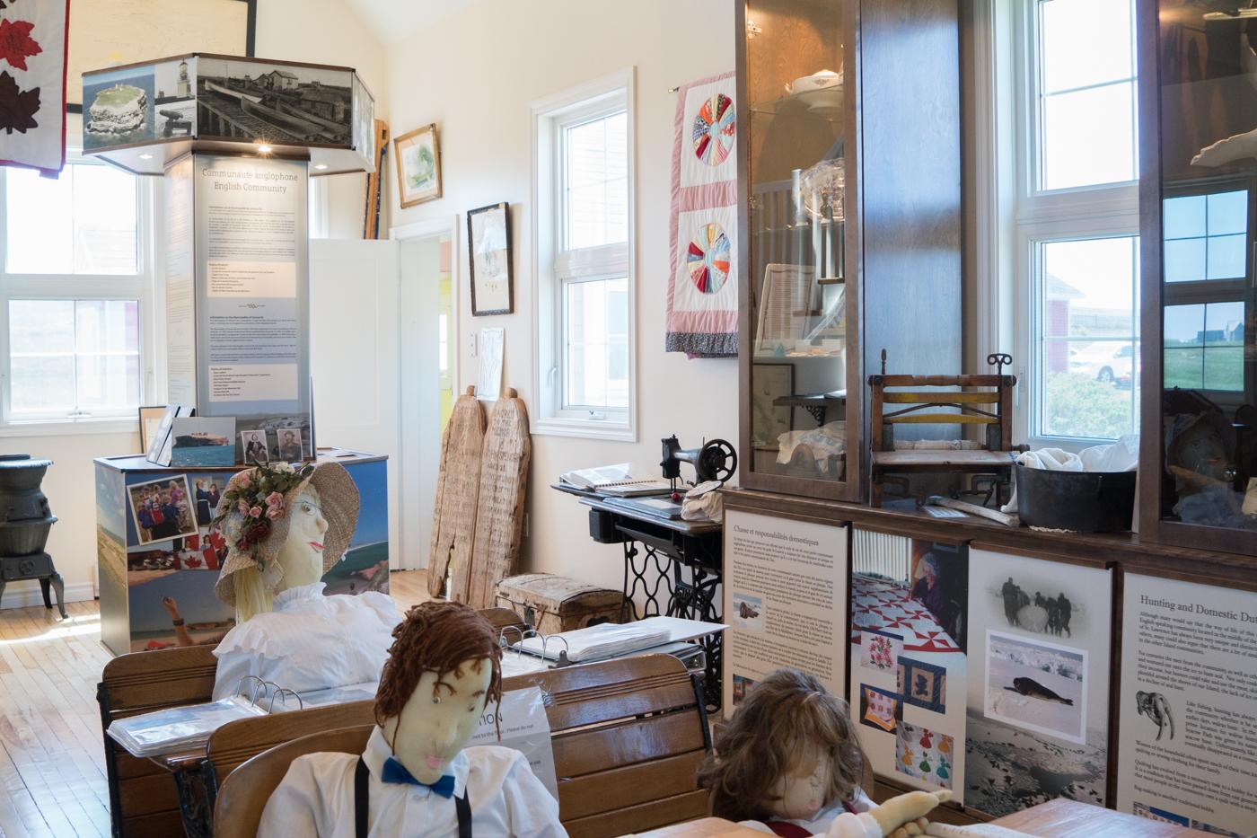 Musée de la petite école de Grosse-Île - CAMI
