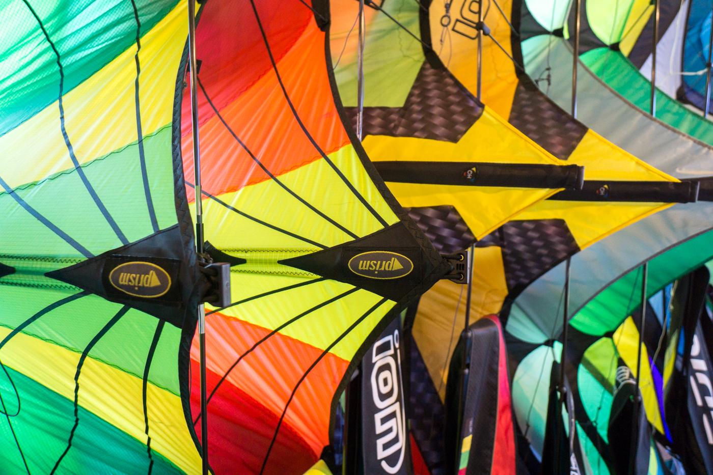 Cerf-volants colorés Au Gré du Vent - îles de la Madeleine