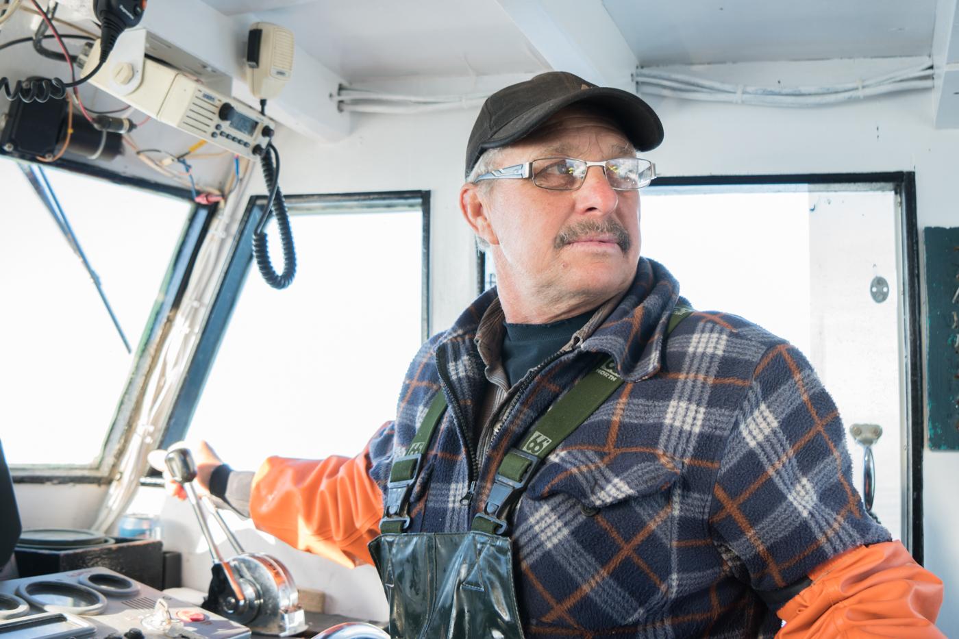 Jeannot Aucoin, pêcheur de homard des îles de la Madeleine