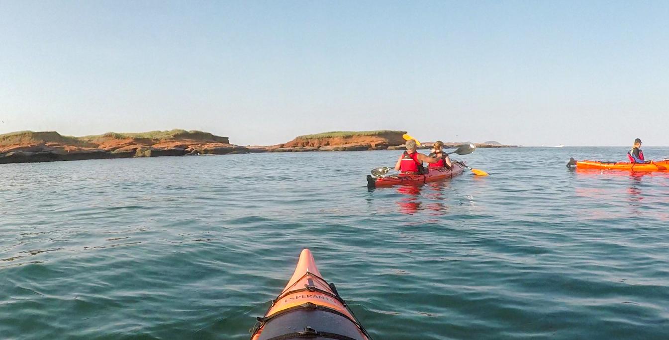 Kayak au parc de Gros-Cap - Quoi faire aux îles de la Madeleine