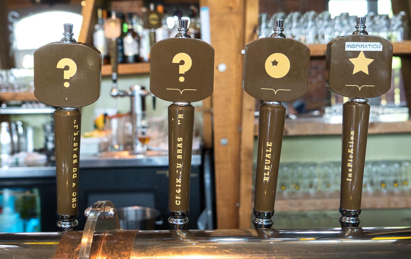 Futs de bière au Siboire Dépôt de Sherbrooke