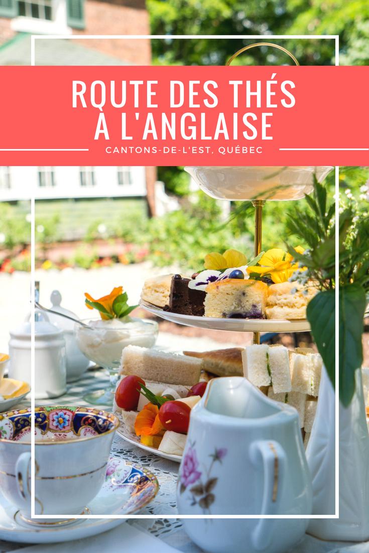Route des thés à l'anglaise