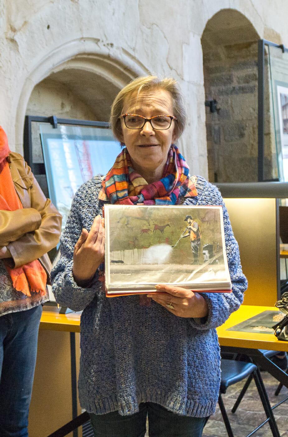 Bérénice, guide de street art de l'Office de tourisme de Rennes