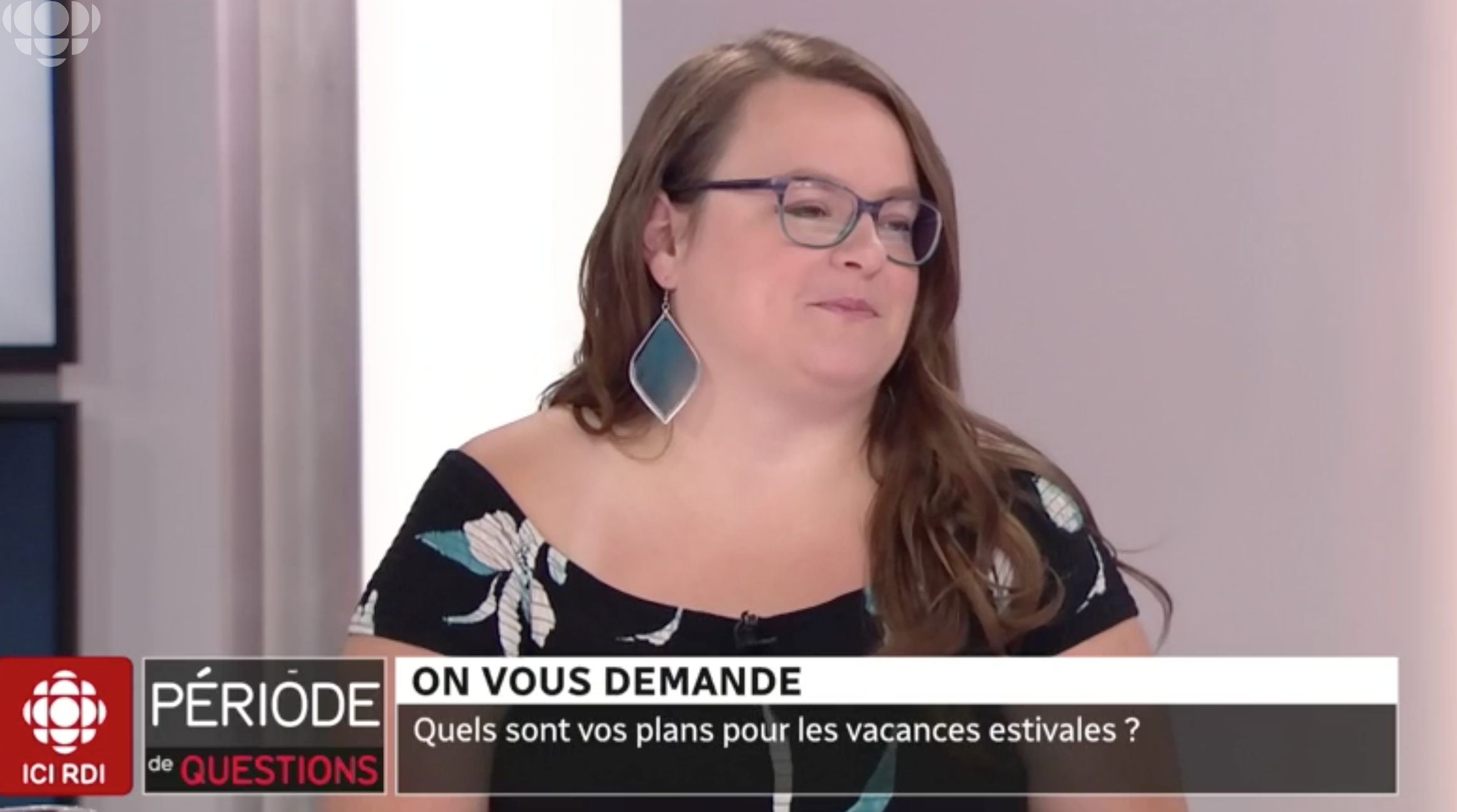 Jennifer Doré Dallas, blogueuse à Radio-Canada