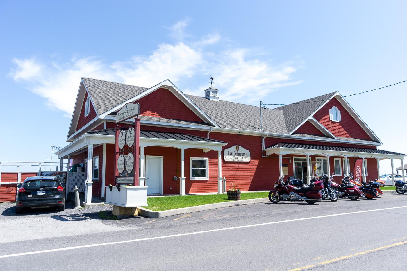 Shack de La Marina - Où manger à Venise-en-Québec