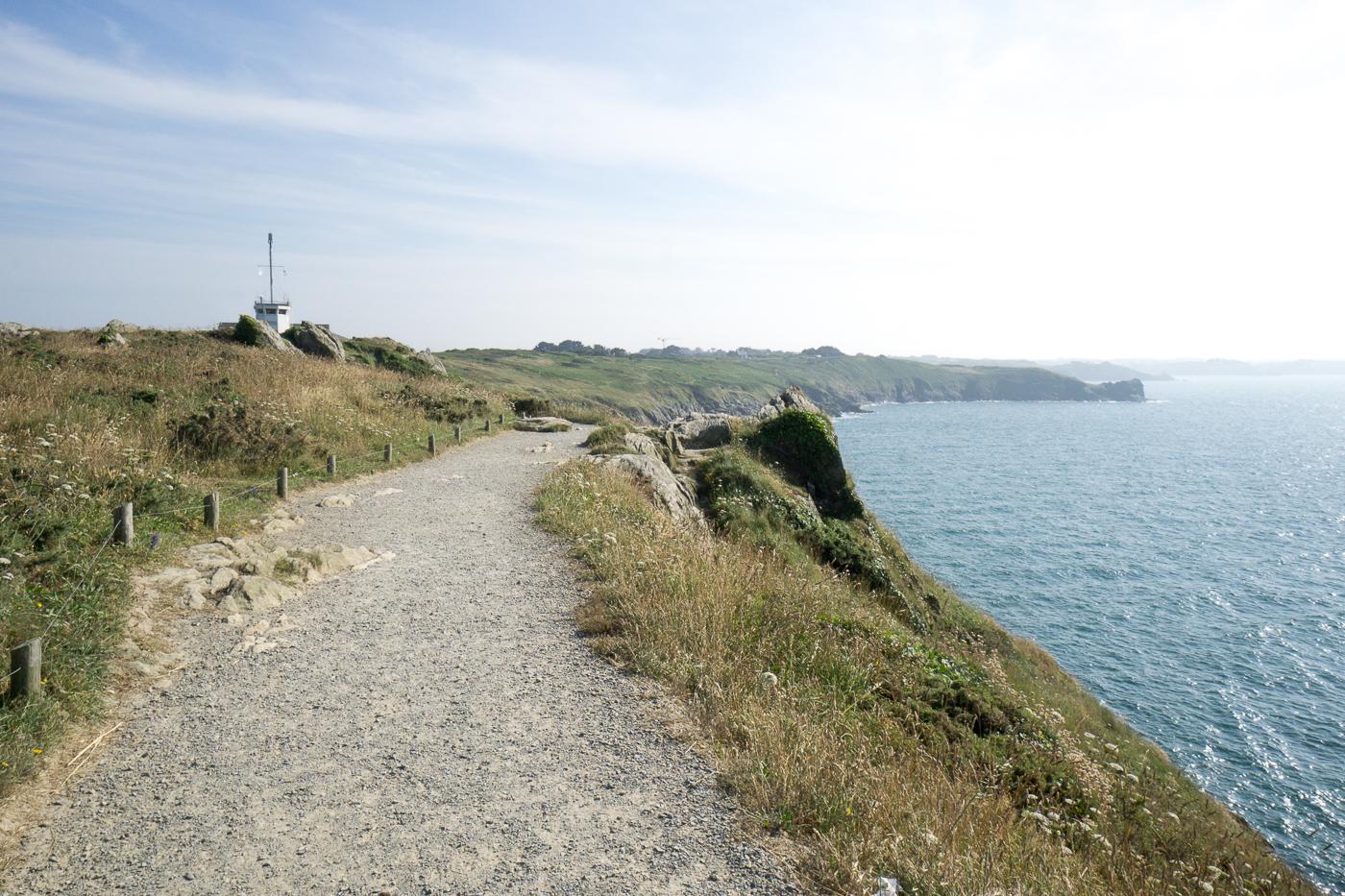 Vue vers St-Malo de la pointe du grouin - Bretagne
