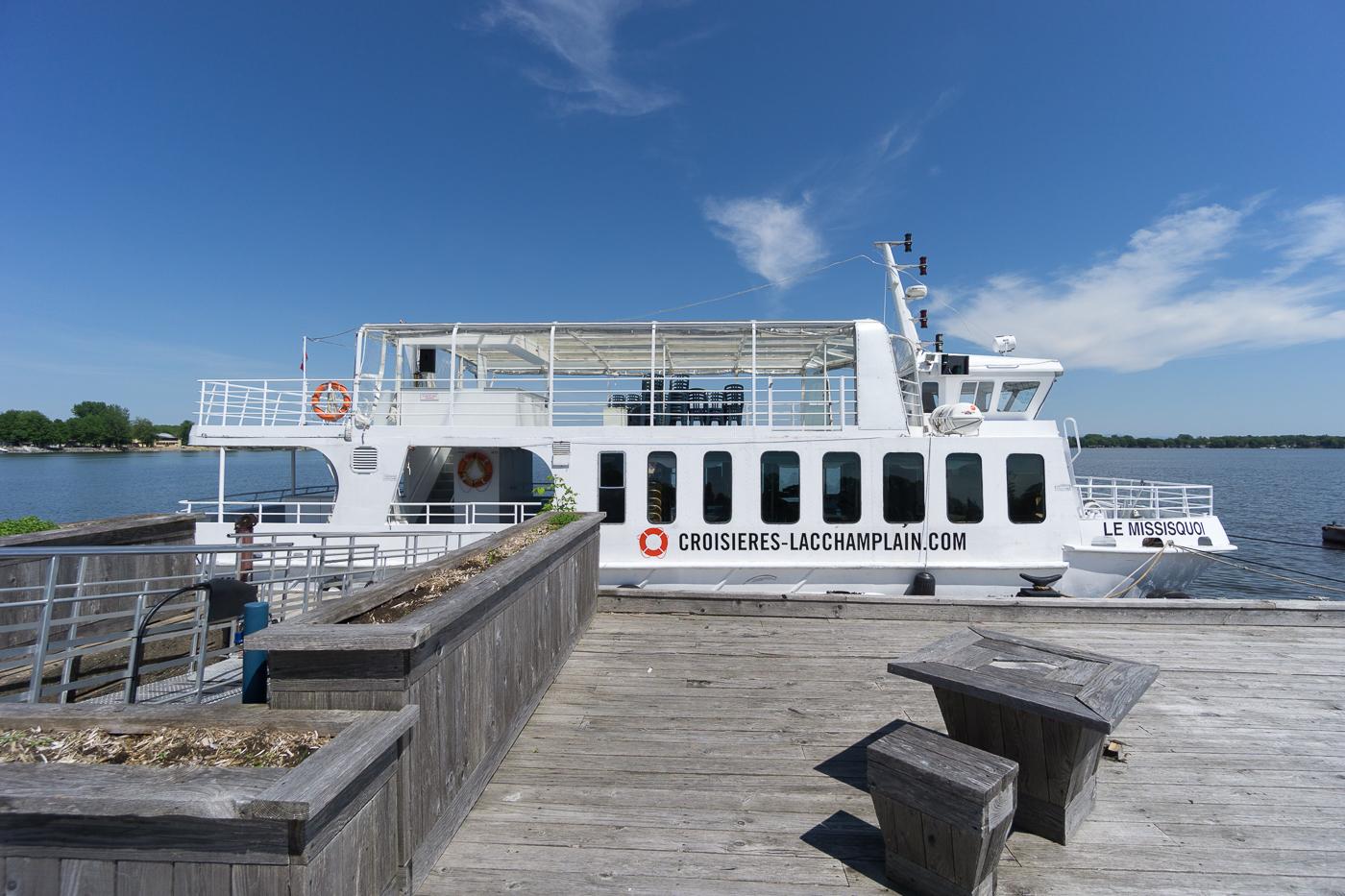 Bateau de Croisières du Lac Champlain