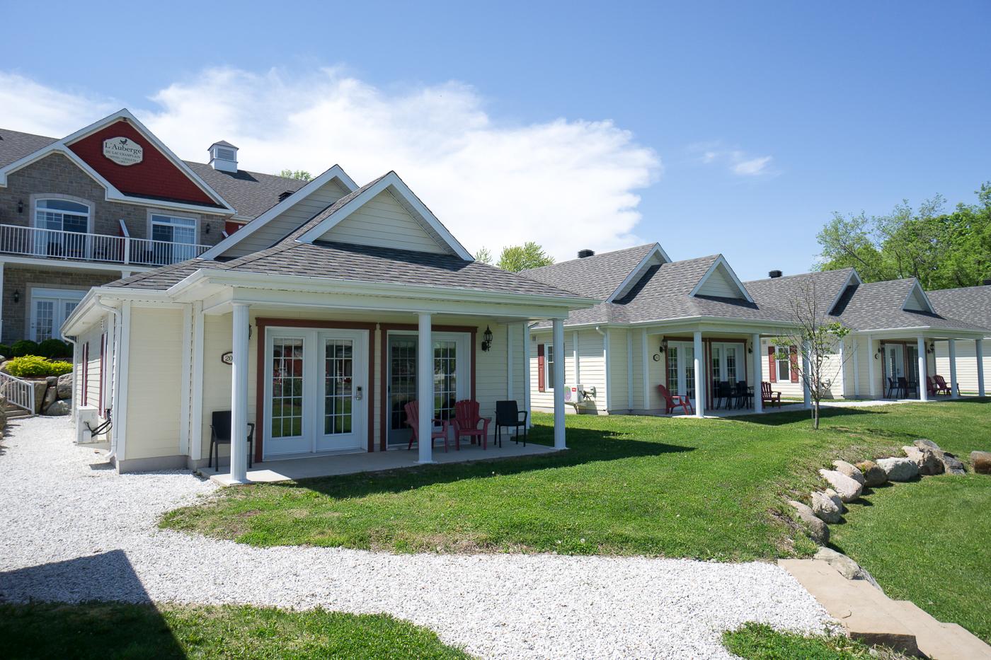 Chalets - Auberge du Lac Champlain - Où dormir à Venise-en-Québec?