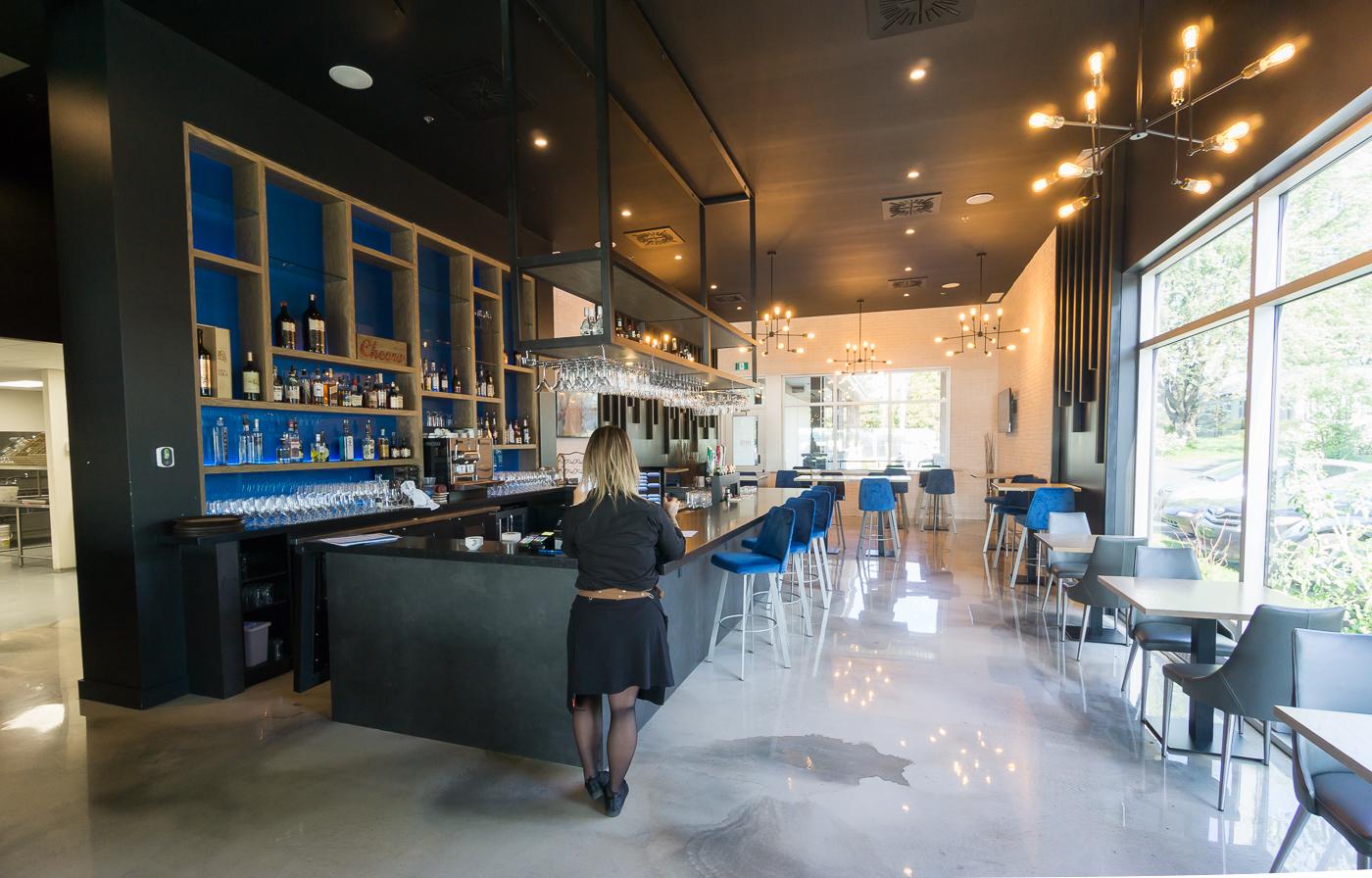 Salle à manger de Le Greg Bistro resto à Venise-en-Québec - Montérégie