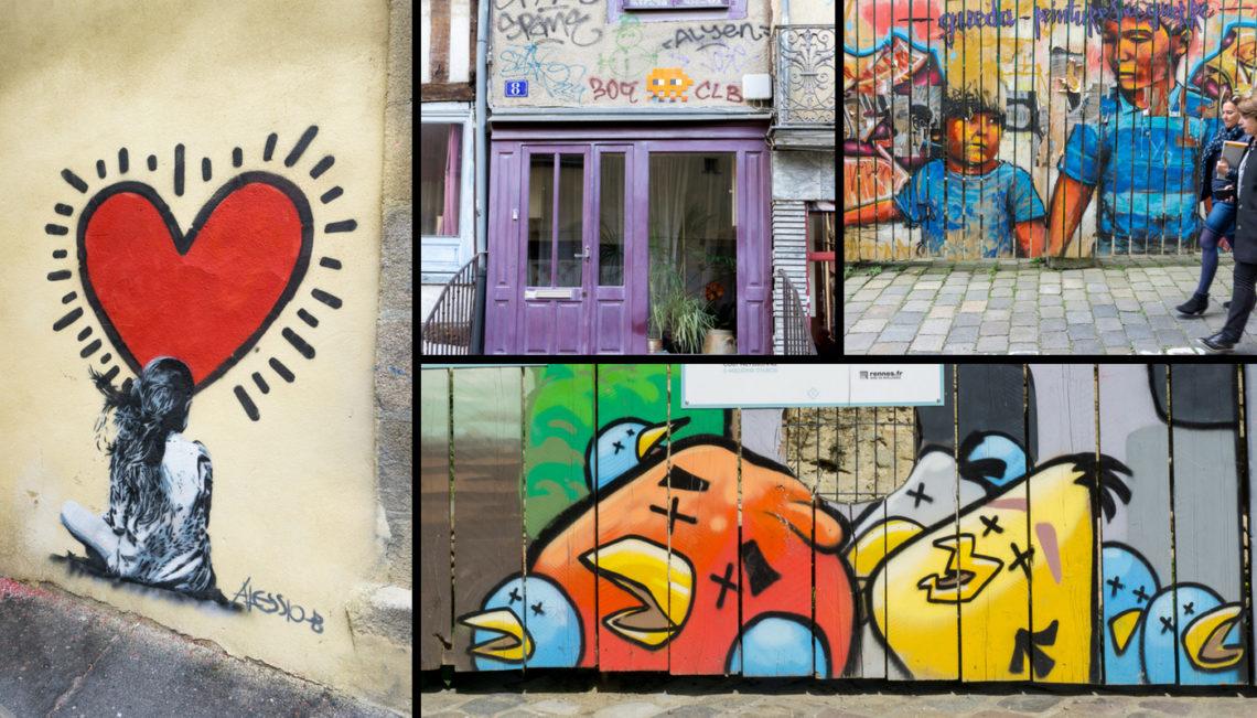Street art à Rennes