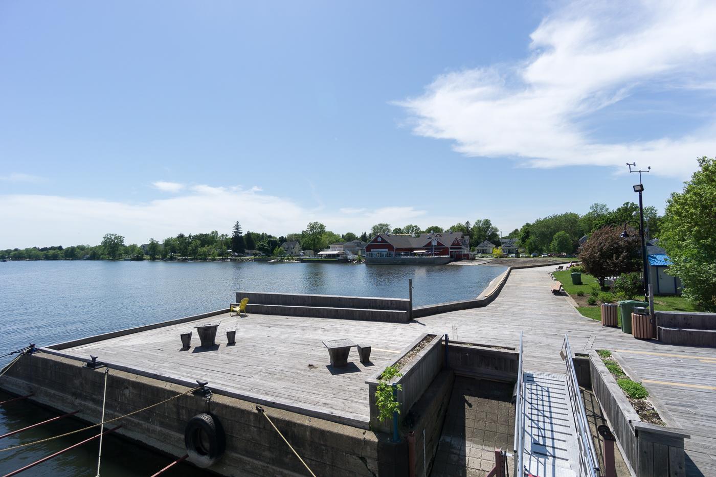 Vue du bateau de croisières du lac Champlain - Venise-en-Québec