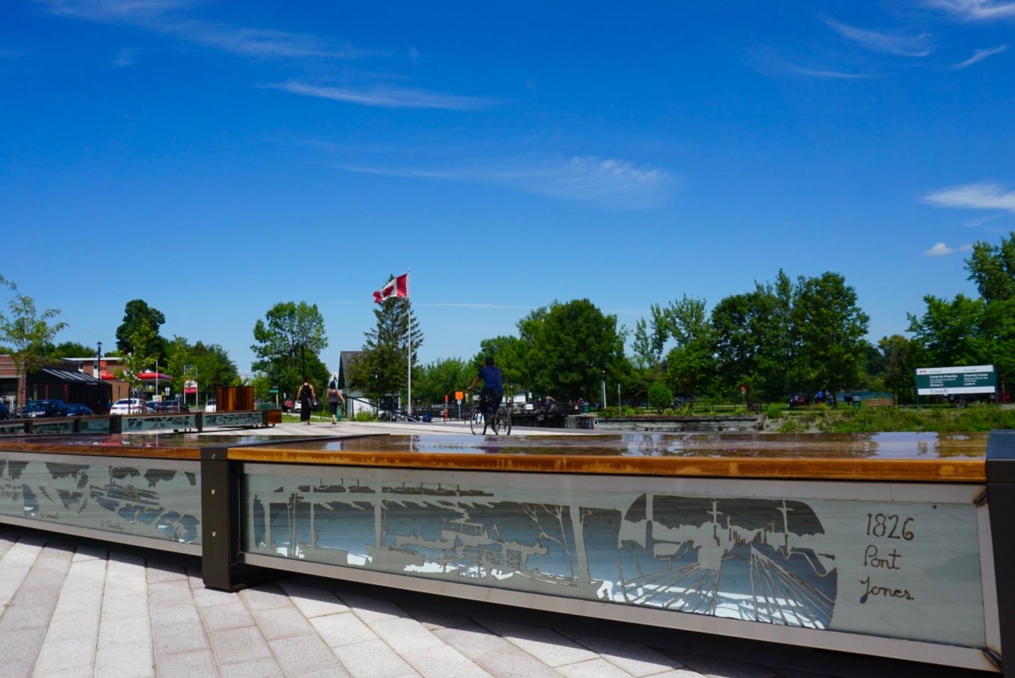 Promenade au bord de la rivière Richelieu