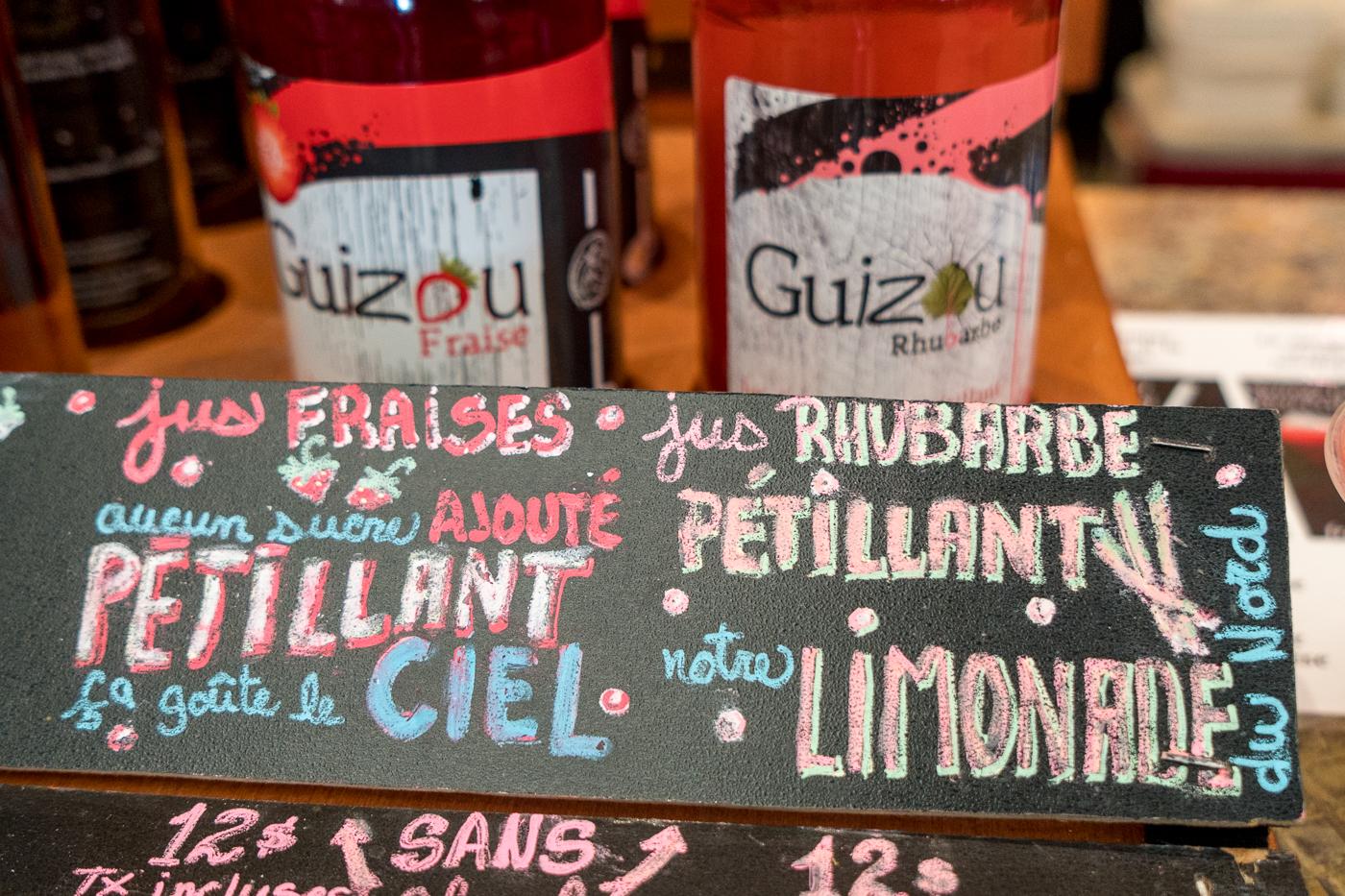 Boissons Guizou foire gourmande Abitibi-Témiscamingue
