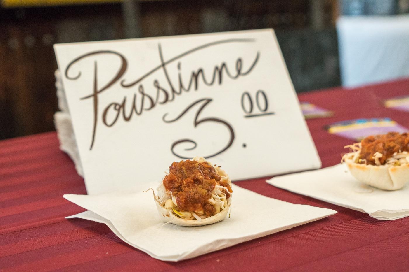 Pousstinne végétarienne foire gourmande quoi faire au Témiscamingue