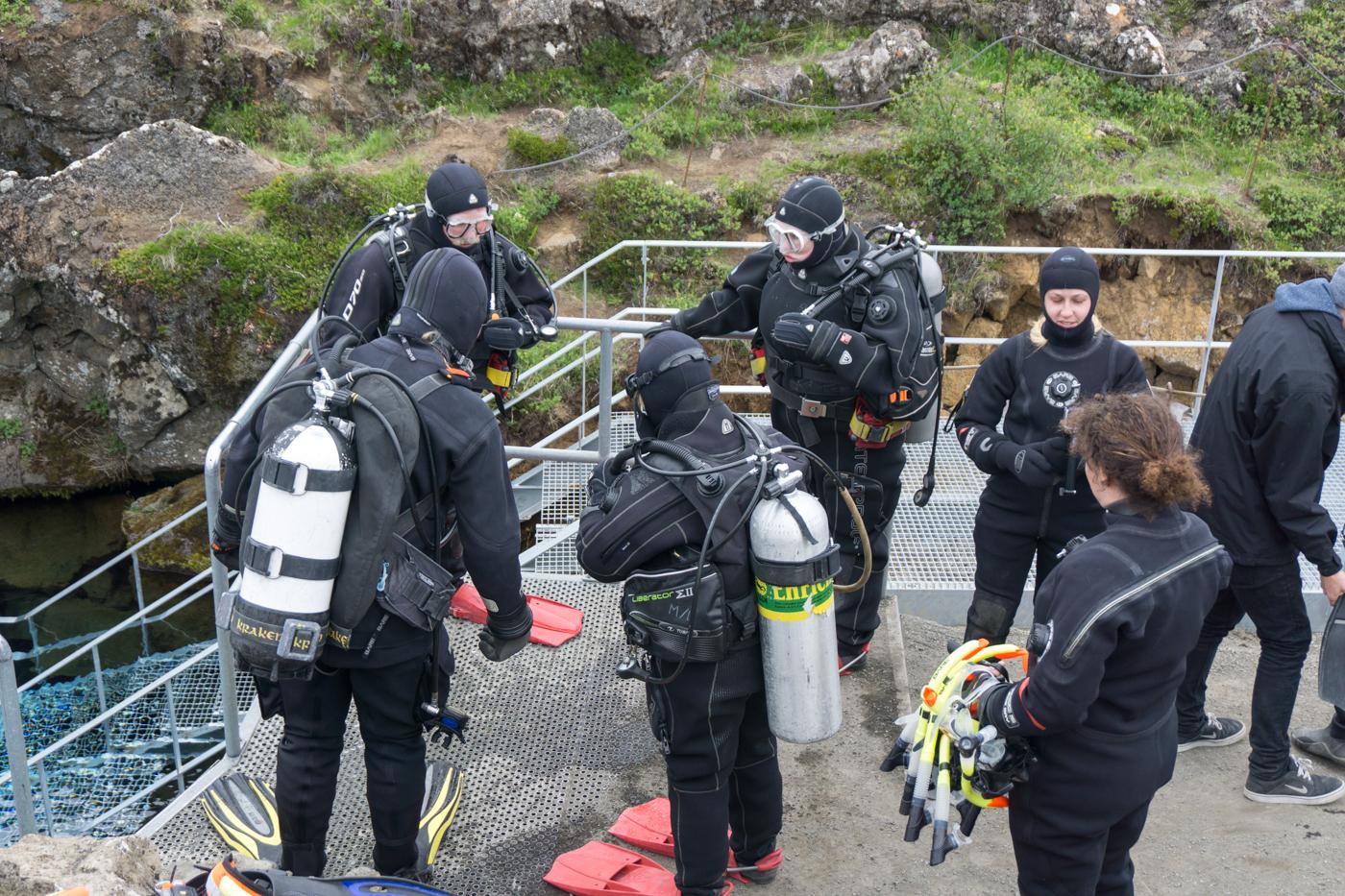 Plongée dans la faille de Silfra - Quoi faire en Islande?