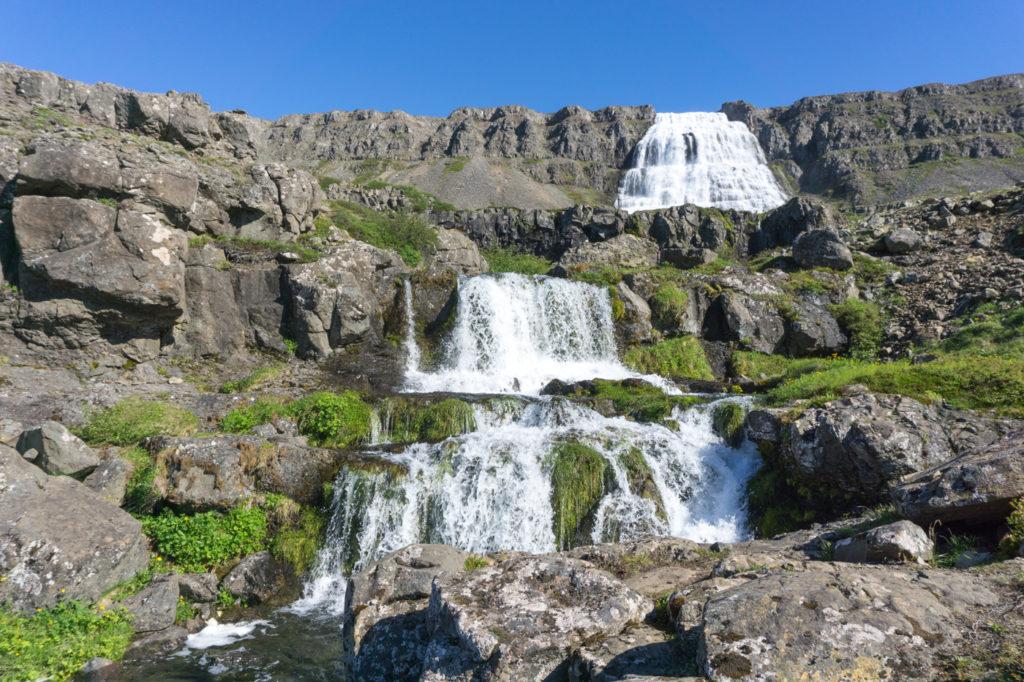 Chute Dynjandifoss - Fjords de l'Ouest - Islande