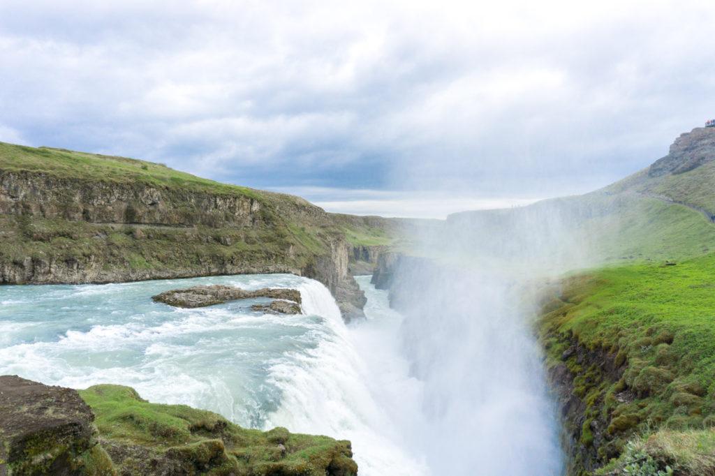 Chute Gullfoss du Cercle d'Or - Quoi faire en Islande?