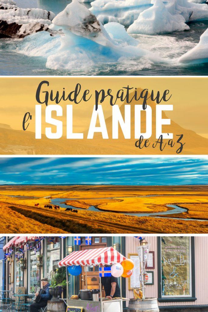 Guide de l'Islande de A à Z - Méga guide pratique