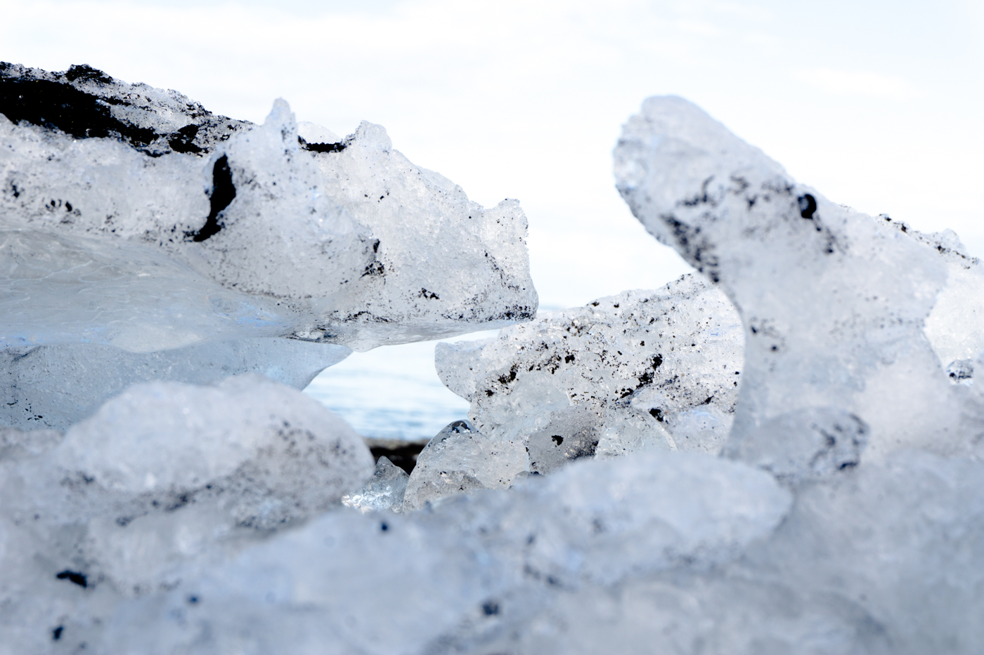lagune glaciaire de Jökulsarlon - Sud de l'Islande